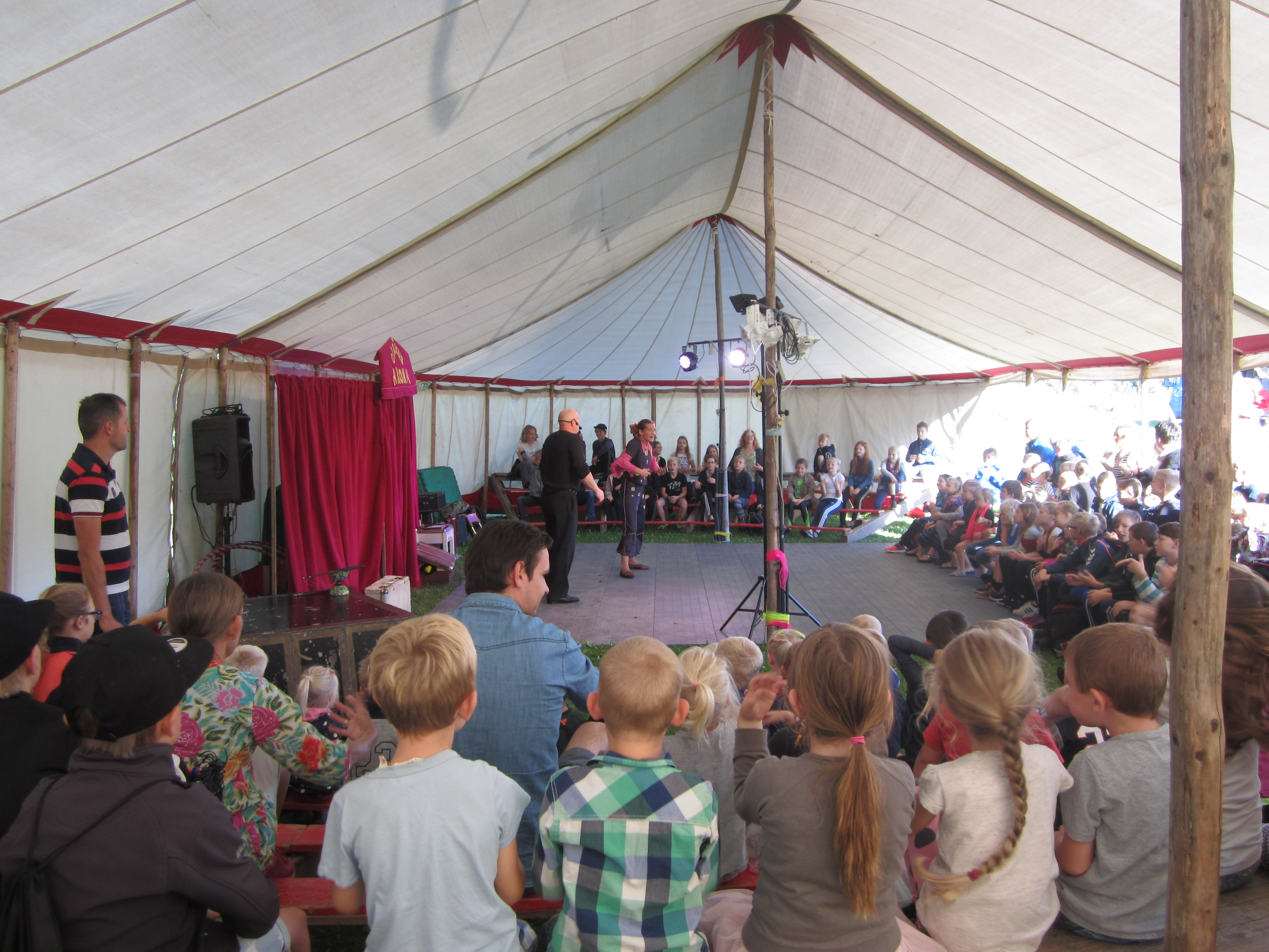 25 års jubilæum på Gården - Cirkus hele ugen